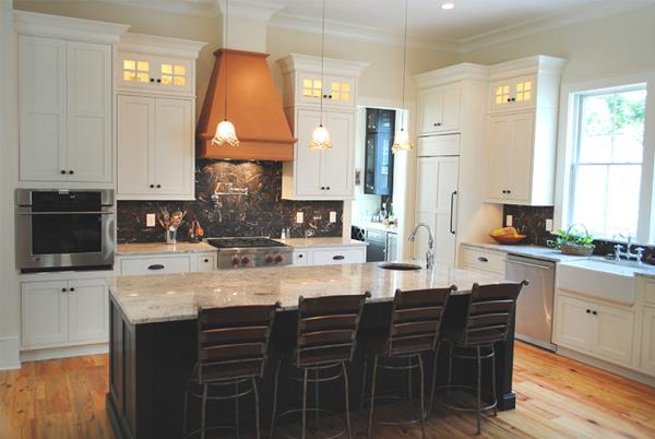 Multiple Finishes Create Striking Kitchen Design
