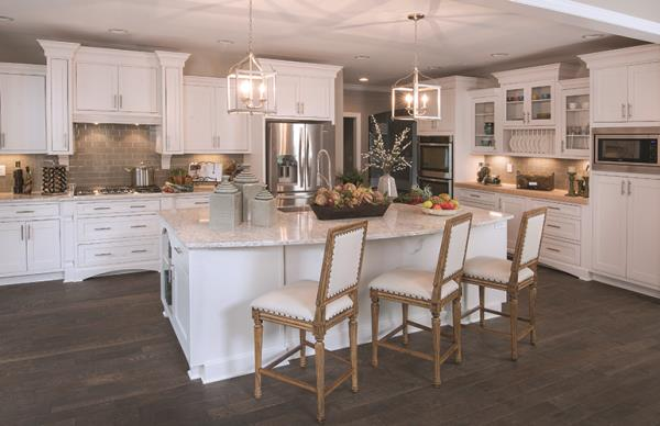 Defined Work Areas Optimize Kitchen Space
