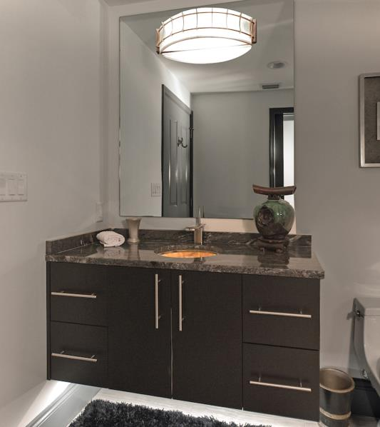 Contemporary Wall Hung Vanity
